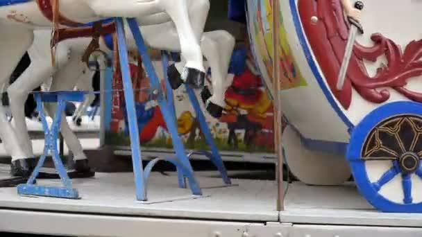 Starý styl carrousel v městě Curychu