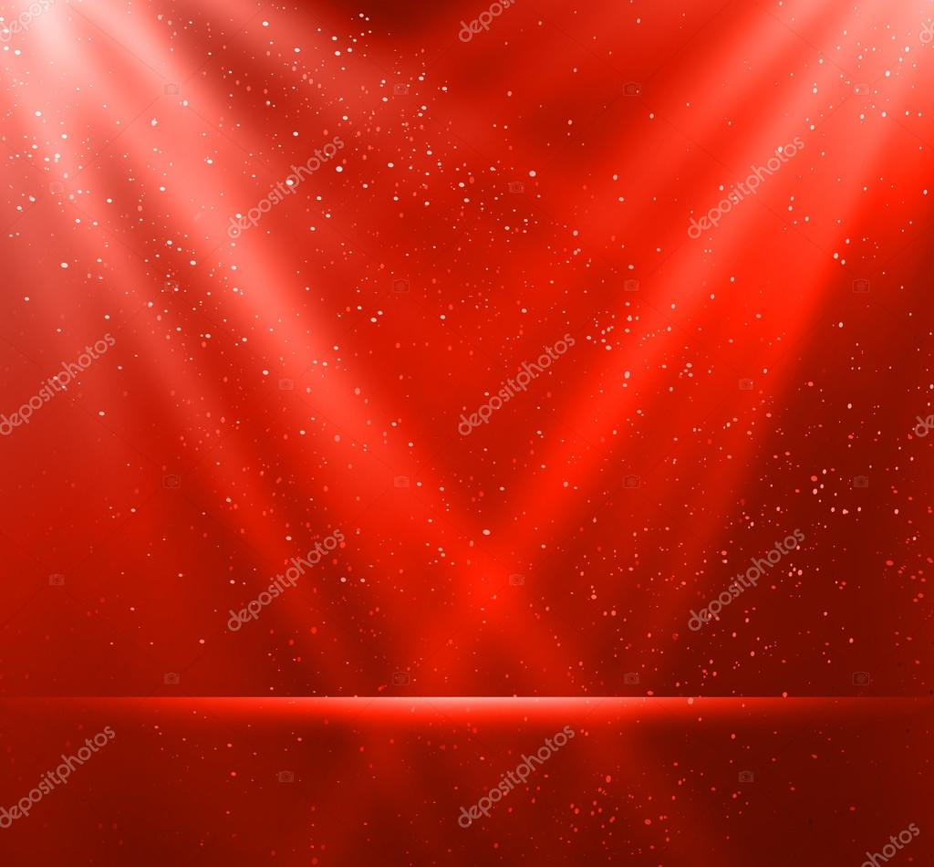 Abstract magic red light background
