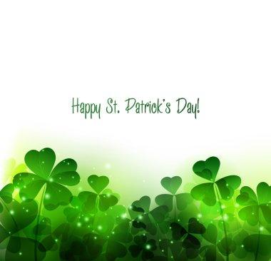 Happy Saint Patricks Day Background.