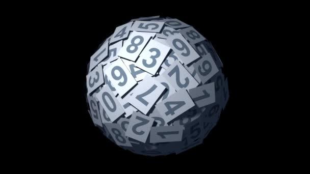Zahlen-Kugel