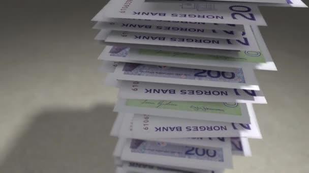 Balíček bankovek norská Koruna