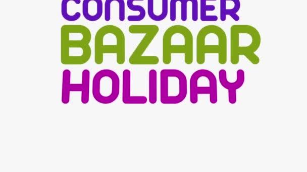 Kinetická typografie animace o Shopping