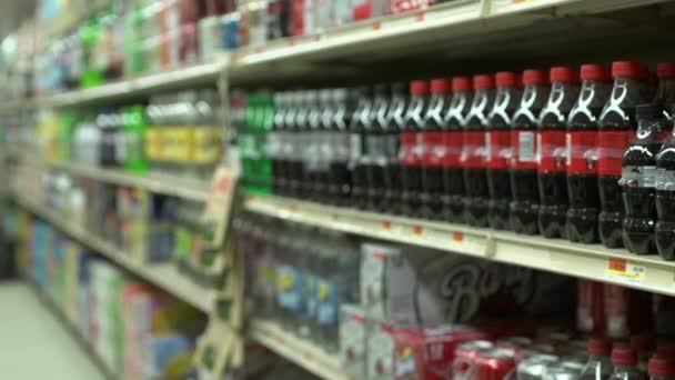 Scény z typický americký obchod s potravinami