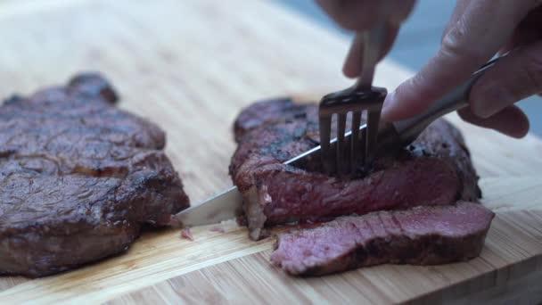 steak z čerstvého osoby plátky