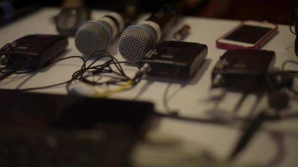 Fotografie Sound-Equipment für ein Treffen