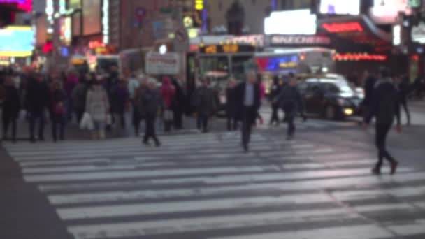 lidé na ulici v New Yorku