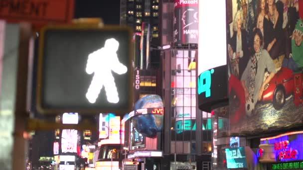 Přechod pro chodce značka Times Square
