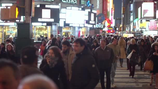 people walking on the street in New York
