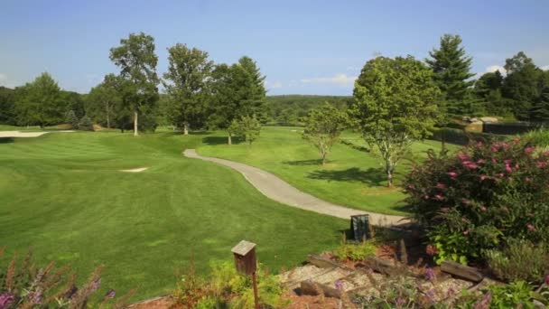 Leere Golfplatz