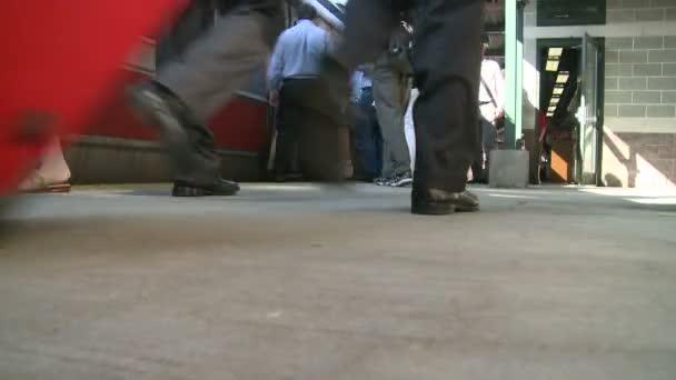 People boarding a train (2 of 2)