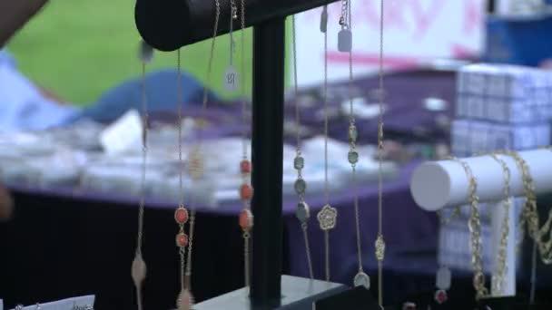 Buying jewelery at Craft Fair (5 of 5)