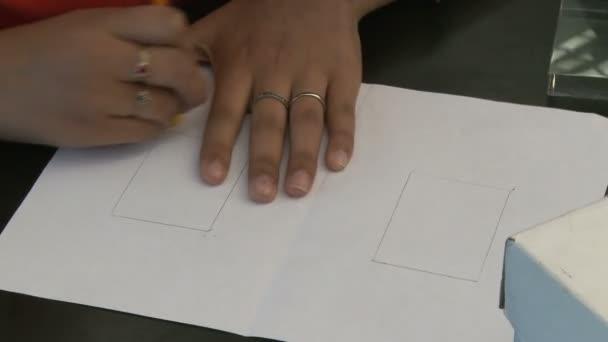 Diák ő papíron törlése