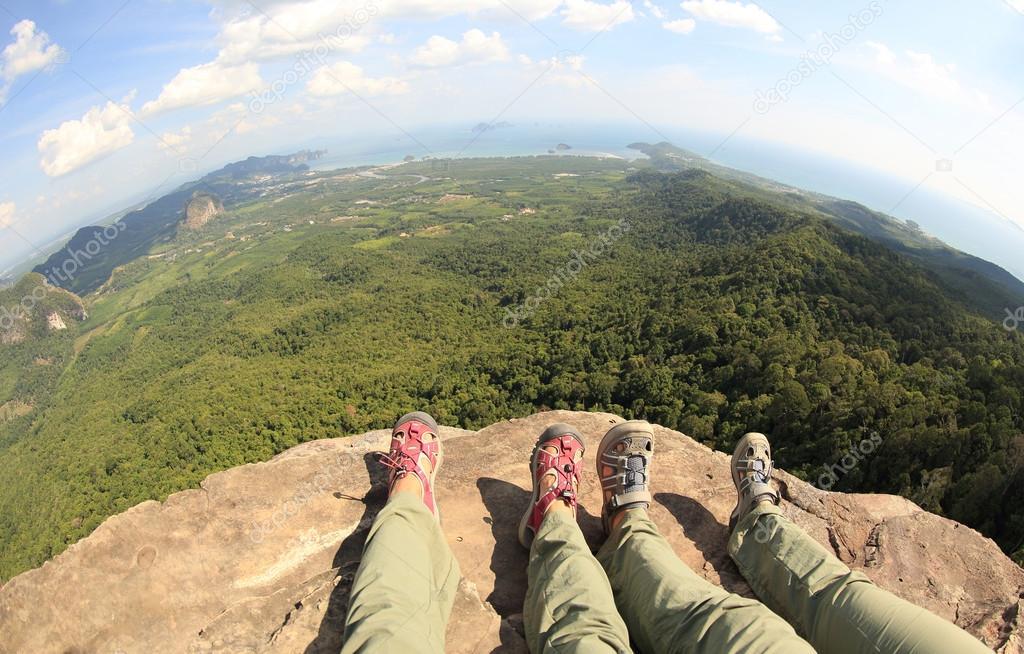 hikers women legs
