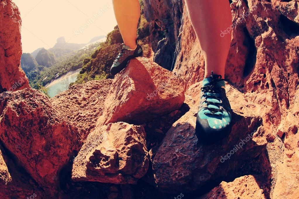 rock climber legs