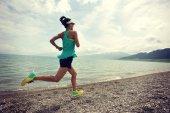 fitness žena běží
