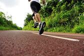 Fotografie Fitness Frauen Beine jogging