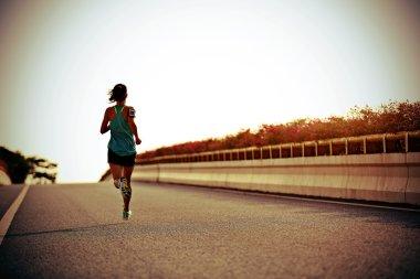 fitness woman runner
