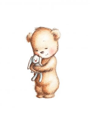 Teddy Bear with Bunny