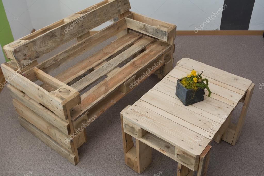 Rustikale Wohnzimmer Möbel   Upcycling U2014 Stockfoto