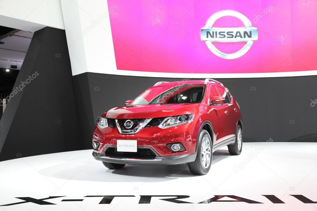 BANGKOK - MARCH 24: Nissan X-trail car on display at The 36 th B