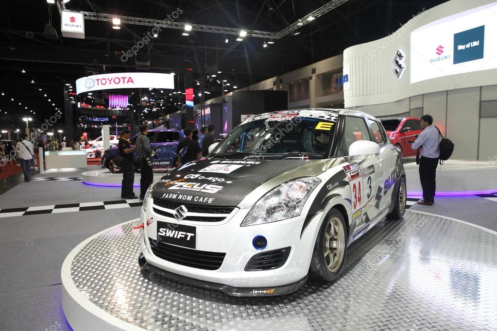 BANGKOK - June 24 : Suzuki swift car on display at Bangkok