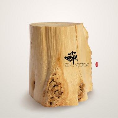 Vector Wooden Log.