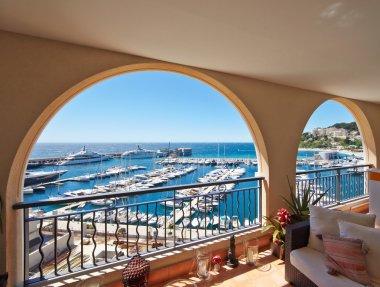05.29.2013, Monaco, CapDail: View from the balcony of the marina