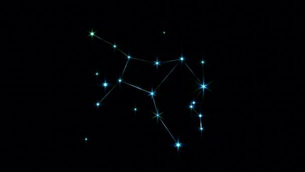 Realistische Jungfrau 1 der 12 Sternbilder des Tierkreises.