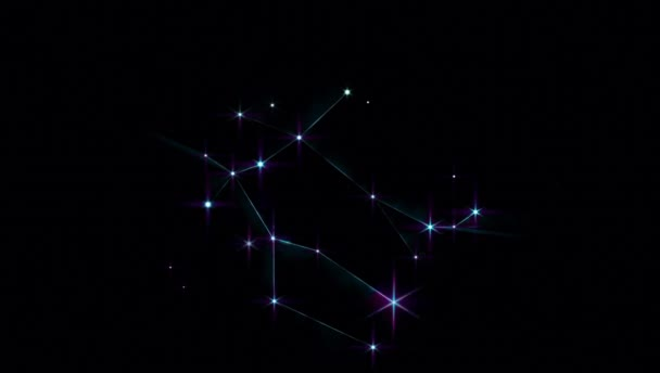 Realistic Gemini 1 of the 12 constellations of the zodiac.