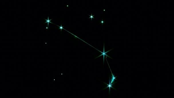 Realistischer Widder 1 der 12 Sternbilder des Tierkreises.