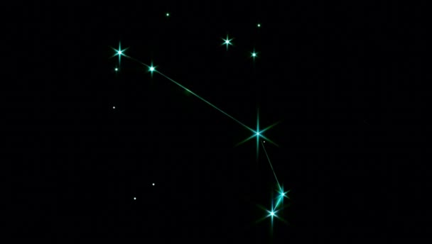 Realistic Aries 1 of the 12 constellations of the zodiac.