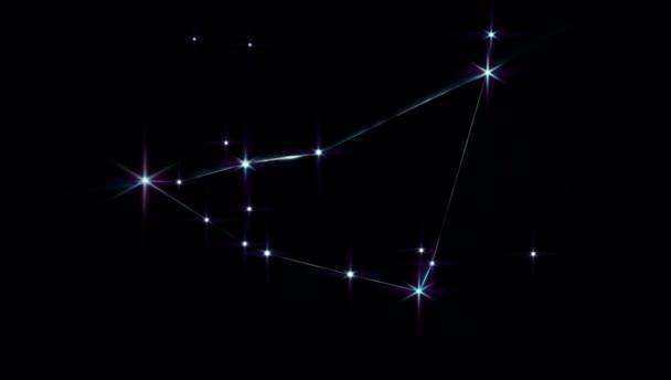Realistischer Steinbock 1 der 12 Sternbilder des Tierkreises.