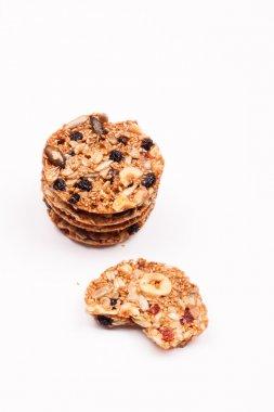 grain cookies, crispy crocant