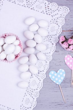 sugar coated almond candy