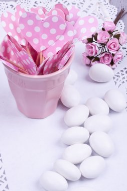 sugar coated almond candy,