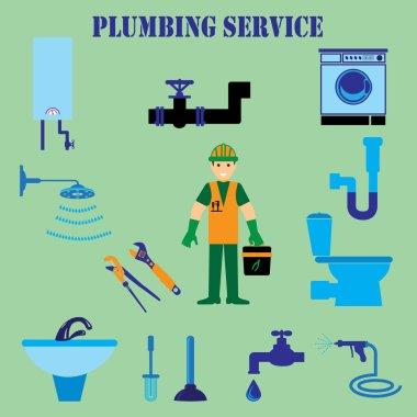 Repair plumbing symbols