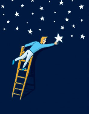 Reaching the stars with a ladder