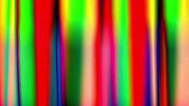Elmosódott elvont színvilágítás ritmikusan himbálózik