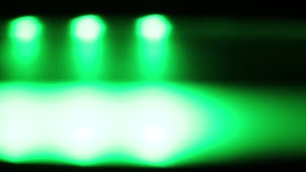 Groen Led Licht : Horizontaal verplaatsen groene led licht s nachts u stockvideo