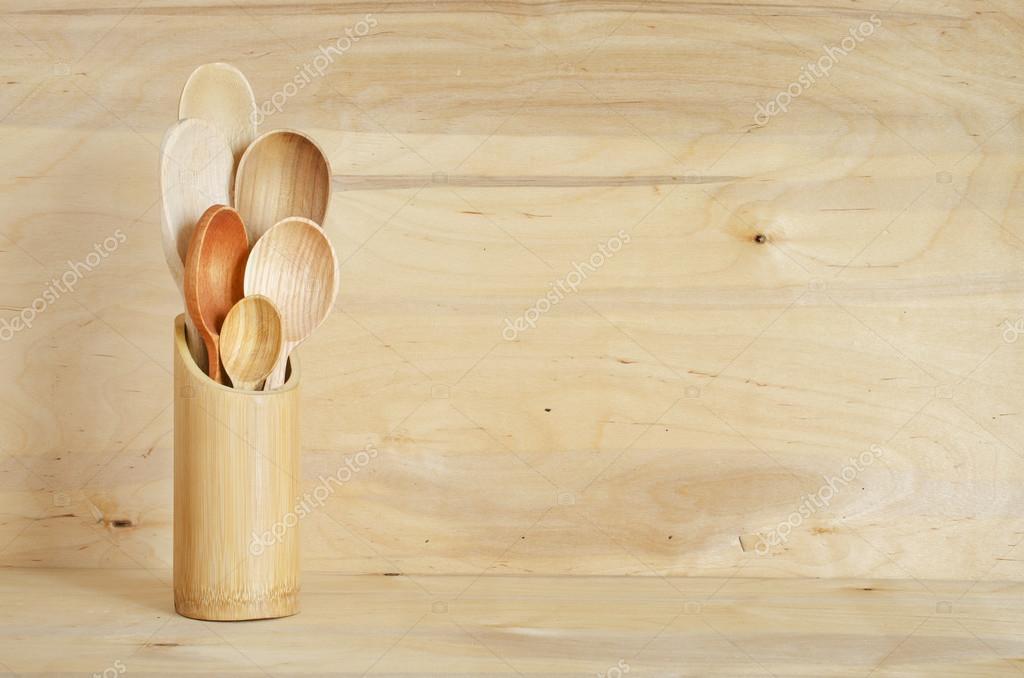 Oggettistica per la casa cucina: vintage posate, cucchiai in un ...