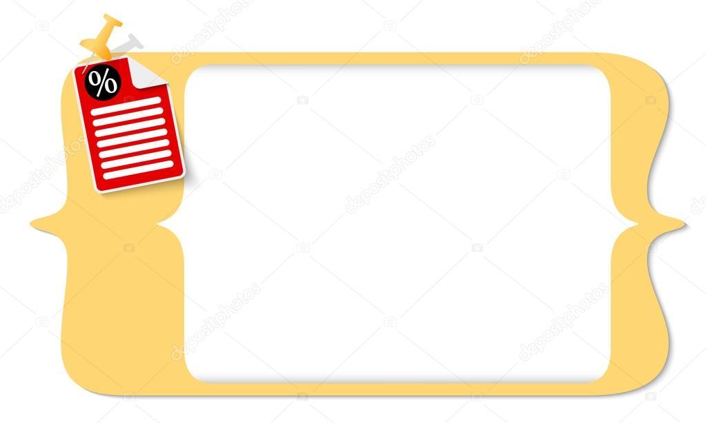 Vector Vierkante Haken Voor Het Invoeren Van Tekst En Pictogram En