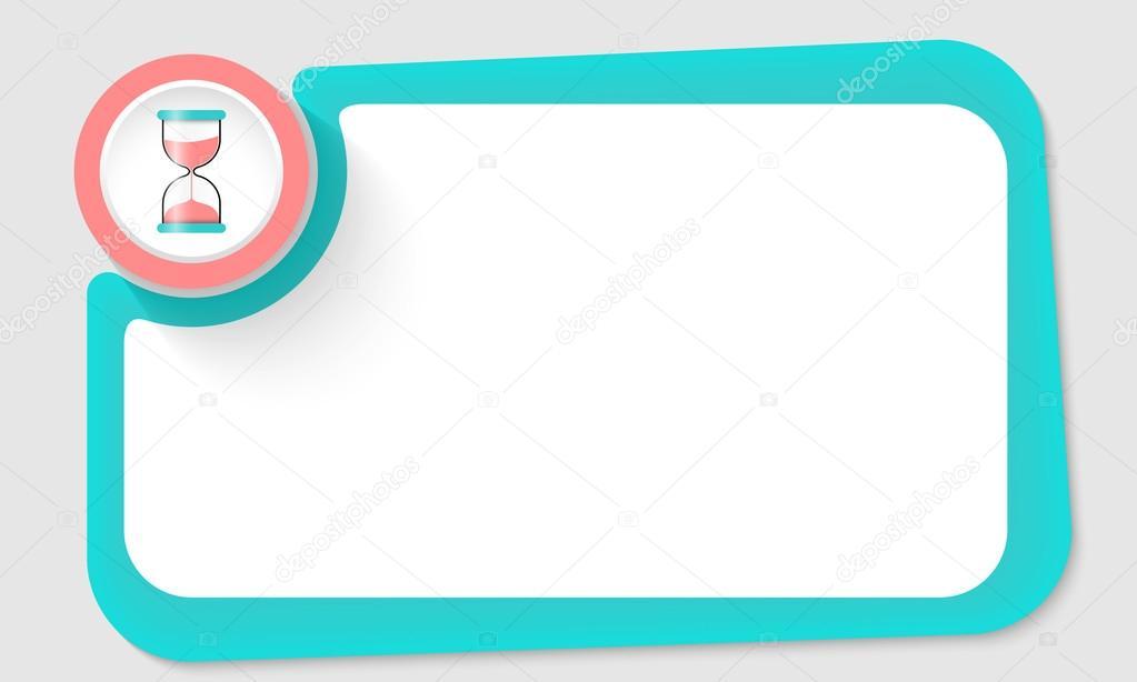 Rosa cristal círculo y arena y verde marco para el texto — Archivo ...