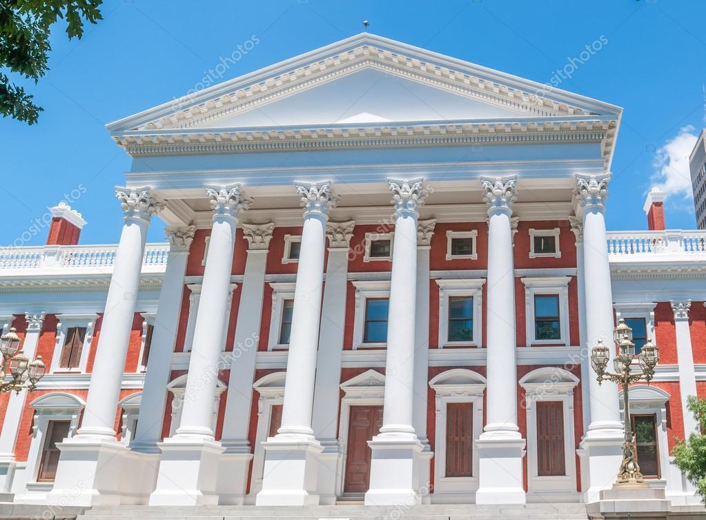 Costruzione del parlamento a citt del capo foto stock for Immagini del parlamento