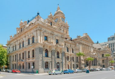 The historic city hall in Cape Town