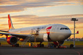 letadlo v údržbě
