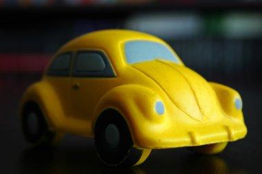 Toy stylized car