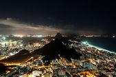 Hezký večer pohled v Rio de Janeiro