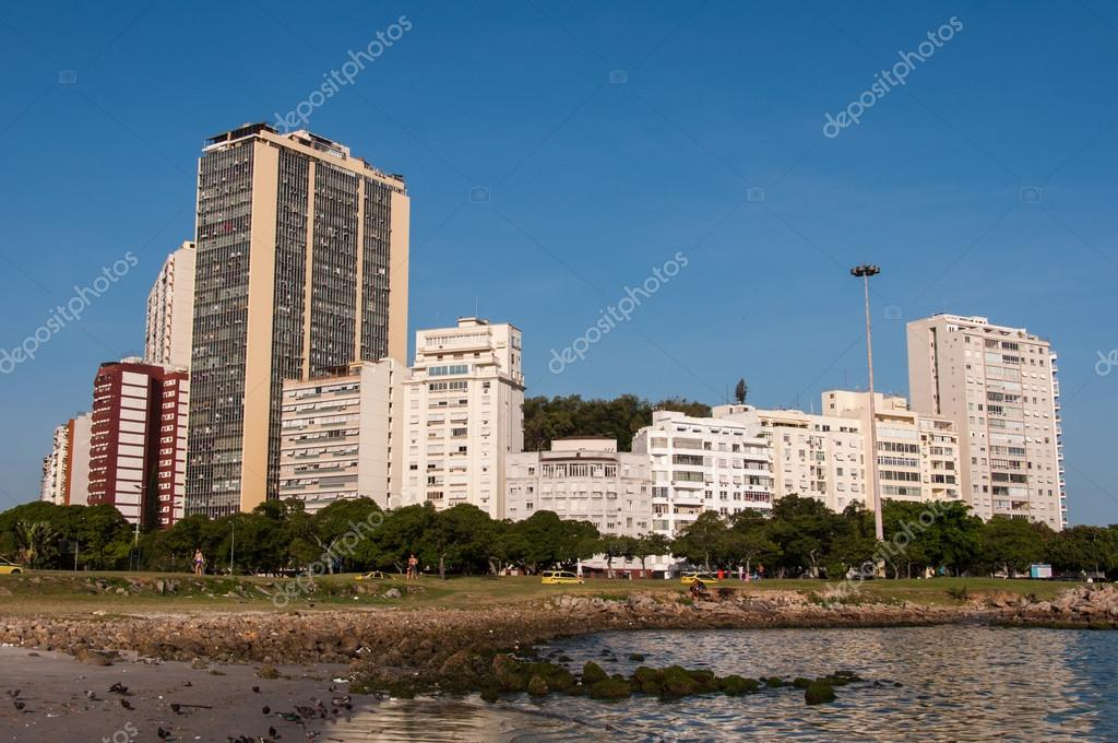 Stadtteil Von Flamengo Rio De Janeiro Stockfoto Dabldy 106949432