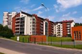 Fotografie Neue und moderne Wohnhäuser