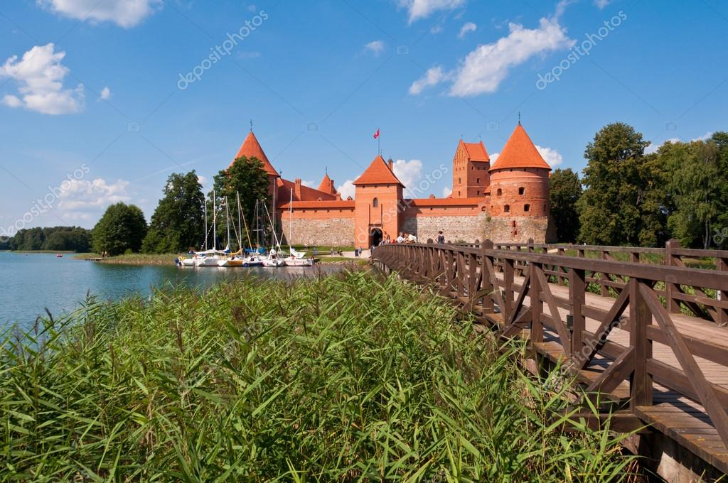 Medieval Trakai Castle